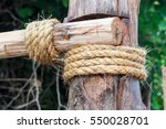 rope  tie a rope | Shutterstock . vector #550028701