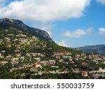 landscape of the famous italian ... | Shutterstock . vector #550033759