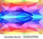 vector abstract irregular...   Shutterstock .eps vector #550039981