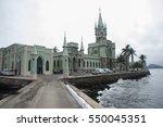 ilha fiscal  historical... | Shutterstock . vector #550045351