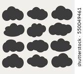 cloud icon | Shutterstock .eps vector #550049461