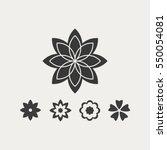 flower | Shutterstock .eps vector #550054081
