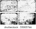 collection of grunge textures.... | Shutterstock .eps vector #55005766