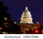 Stock photo capitol dome detail on american 550075984