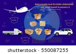 international freight shipping... | Shutterstock .eps vector #550087255