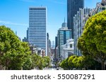Downtown City Of San Francisco...