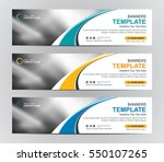 abstract web banner design... | Shutterstock .eps vector #550107265