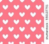 heart signs seamless pattern ...   Shutterstock .eps vector #550137751