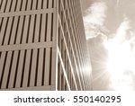 modern building. modern office ... | Shutterstock . vector #550140295