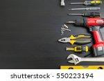 tools manual hardware blank... | Shutterstock . vector #550223194