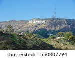 hollywood california   january... | Shutterstock . vector #550307794