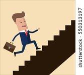 go up concept  career ladder ...   Shutterstock .eps vector #550313197