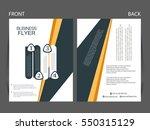 vector business flyer  magazine ...   Shutterstock .eps vector #550315129