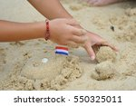 close up picture  sand ... | Shutterstock . vector #550325011