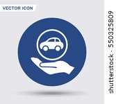 pictograph of car   Shutterstock .eps vector #550325809
