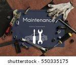 automobile car mechanic service ...   Shutterstock . vector #550335175