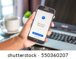 chiang mai thailand   january 7 ... | Shutterstock . vector #550360207