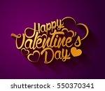 happy valentine's day...   Shutterstock .eps vector #550370341