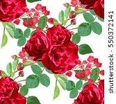 elegant seamless pattern with... | Shutterstock .eps vector #550372141