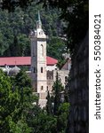 franciscan monastery of st....   Shutterstock . vector #550384021