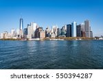 Skyscrapers At Lower Manhattan  ...