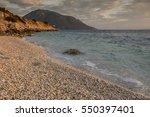 coast of greece. europe   Shutterstock . vector #550397401