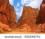 tianshan mysterious grand... | Shutterstock . vector #550398751