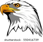 eagle head | Shutterstock .eps vector #550416739
