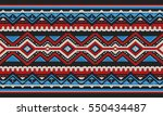 red and blue detailed... | Shutterstock .eps vector #550434487