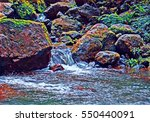 White Water River Between...