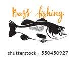 bass fish | Shutterstock .eps vector #550450927