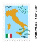 mail to from italy | Shutterstock .eps vector #55047289