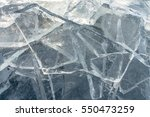 texture of ice surface | Shutterstock . vector #550473259