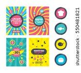 sale website banner templates.... | Shutterstock . vector #550481821