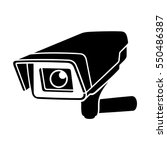 observation camera. | Shutterstock .eps vector #550486387
