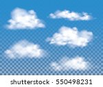 fog   smoke and cloud isolated... | Shutterstock .eps vector #550498231