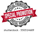 special promotion. stamp.... | Shutterstock .eps vector #550514689
