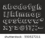 part 2 3. vector hand drawn... | Shutterstock .eps vector #550527211