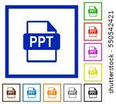 ppt file format flat color...