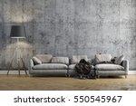 3d render of beautiful clean... | Shutterstock . vector #550545967