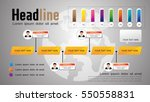 timeline vector infographic ...