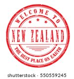 "rubber stamp ""welcome to new... 