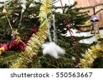 toy on the christmas tree | Shutterstock . vector #550563667