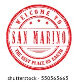 "rubber stamp ""welcome to san... 