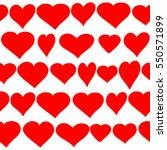 background to valentine's day... | Shutterstock . vector #550571899