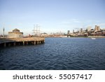 sunny afternoon at san... | Shutterstock . vector #55057417