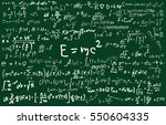 blackboard inscribed with... | Shutterstock .eps vector #550604335