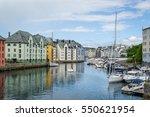 Small Boat And Old Sailing Ship ...