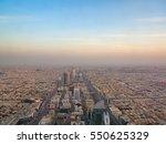 riyadh   february 29  aerial... | Shutterstock . vector #550625329