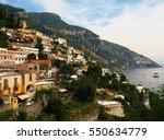 landscape of the famous italian ... | Shutterstock . vector #550634779